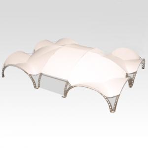 Арочный шатер 21х16 (336 м²)
