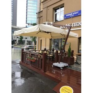 Зонт премиум с боковой опорой