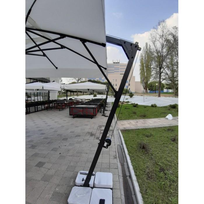 Зонт профессиональный с боковой опорой